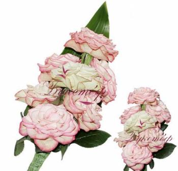 Букет невесты Розовый фламинго.