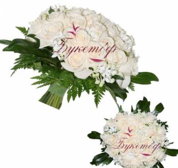 Букет невесты Вся в белом.