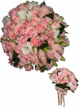 Букет невесты Яблоневый цвет.